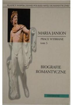 Biografie romantyczne Prace Wybrane Tom 5
