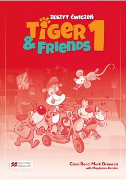 Tiger & Friends 1 WB + kod Student's App MACMILLAN