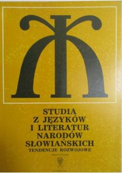 Studia z języków i literatur narodów słowiańskich
