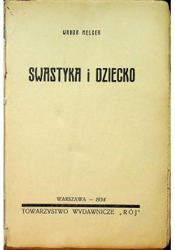 Swastyka i dziecko 1934 r.