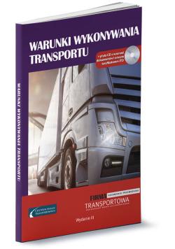 Warunki wykonywania transportu + CD