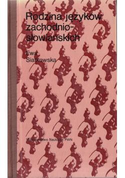 Rodzina języków zachodnio słowiańskich