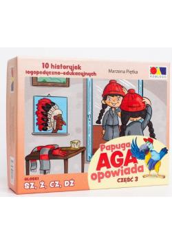 Historyjki obrazkowe. Papuga Aga opowiada cz.3