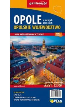 Mapa - Woj. opolskie/Opole 1: 22 500