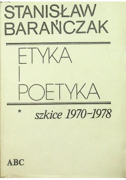 Etyka i poetyka Szkice 1970 1978