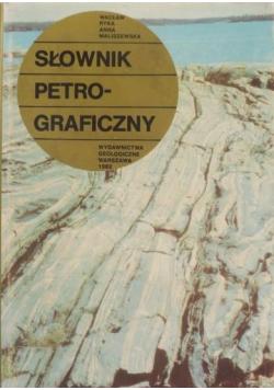 Słownik petrograficzny