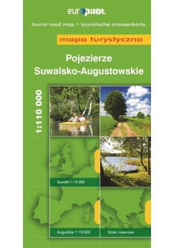 Mapa Turystyczna EuroPilot. Poj. Suwalsko-Aug. br