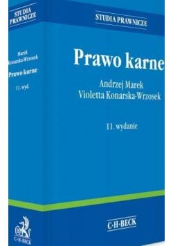 Prawo karne wydanie 11 Studia prawnicze