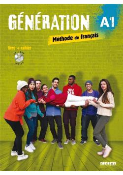 Generation A1 podręcznik + ćwiczenia + CD + DVD