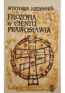 Filozofia w cieniu prawosławia