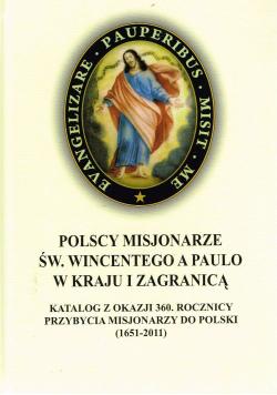 Polscy misjonarze Św Wincentego a Paulo w kraju i zagranicą