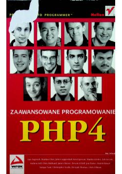 Zaawansowane programowanie PHP4