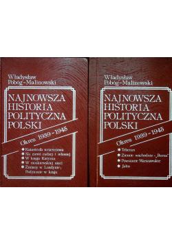 Najnowsza Historia Polityczna Polski 2 tomy