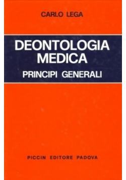 Deontologia Medica Principi Generali