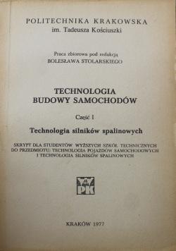 Technologia budowy samochodów część I