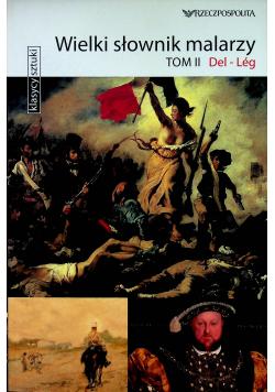 Wielki słownik malarzy Tom II Del Leg