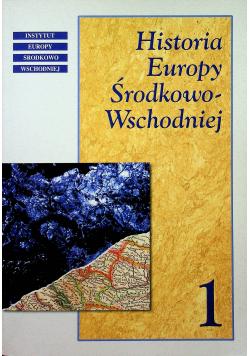 Historia Europy Środkowo Wschodniej