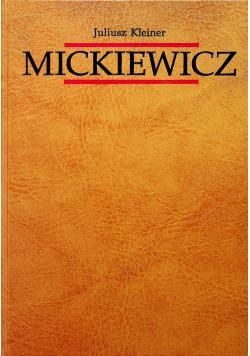 Mickiewicz tom pierwszy Dzieje Gustawa