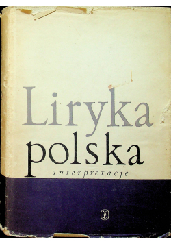 Liryka polska Interpretacje