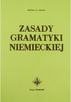 Zasady gramatyki niemieckiej