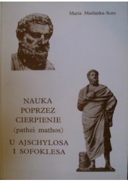 Nauka poprzez cierpienie ( pathei mathos ) u Ajschylosa i Sofoklesa