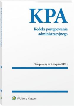 Kodeks post. administracyjnego Przepisy 05.08.2020