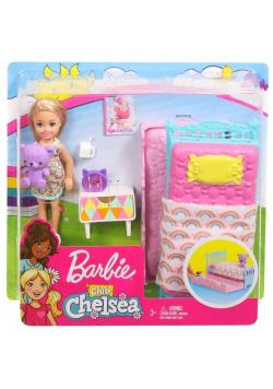 Barbie Chelsea + mały zestaw FXG83