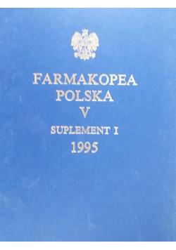 Farmakopea Polska V Suplement I