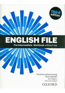 English File 3E Pre-Intermediate WB OXFORD