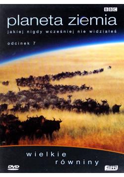 Planeta Ziemia jakiej nigdy wcześniej nie widziałeś tom 7 płyta DVD