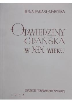 Odwiedziny Gdańska w XIX wieku