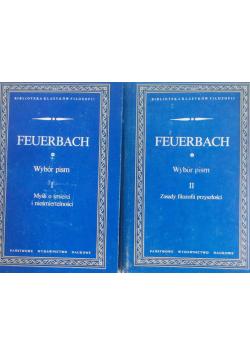Feuerbach Wybór pism tom I i II