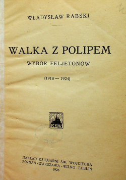 Walka z polipem 1925 r