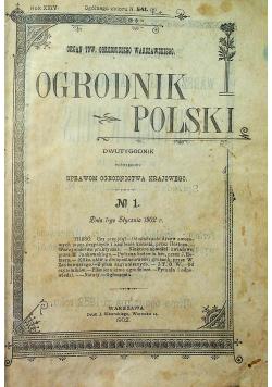 Ogrodnik polski 23 numery 1902 r