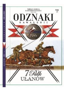 Odznaki Kawalerii T.17 7 Pułk Ułanów