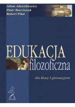 Edukacja filozoficzna dla I klasy gimnazjum