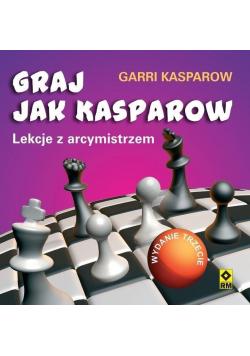 Graj jak Kasparow. Lekcje z arcymistrzem w.3