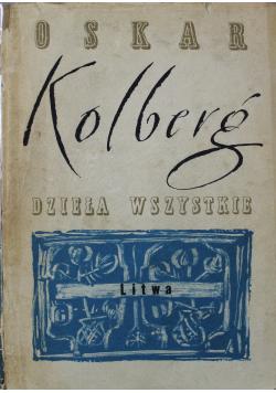 Kolberg Dzieła wszystkie Tom 53 Litwa