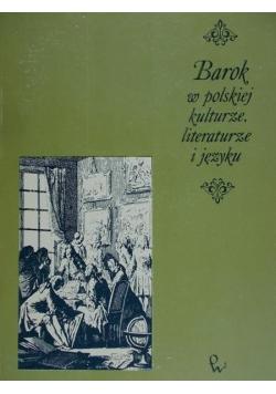 Barok w polskiej kulturze literaturze i języku