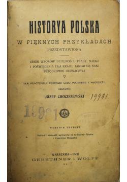 Historya Polska w pięknych przykładach 1908 r.