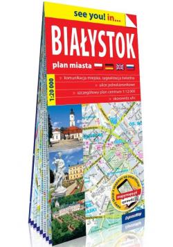 See you! in... Białystok 1:20 000 plan miasta