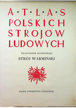 Atlas polskich strojów ludowych Strój warmiński