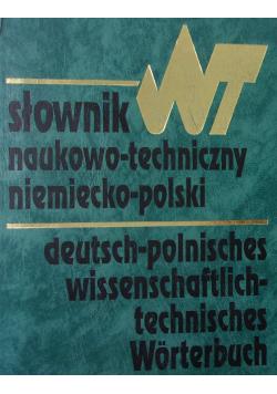Słownik naukowo - techniczny Niemiecko - polski