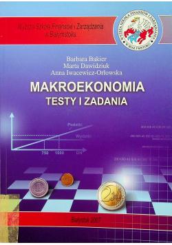 Makroekonomia Testy i zadania