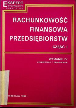 Rachunkowość finansowa przedsiębiorstw część I