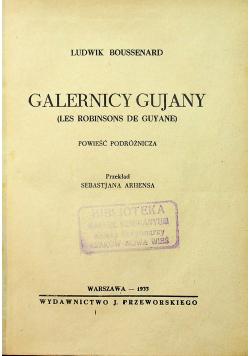 Galernicy Gujany 1933 r