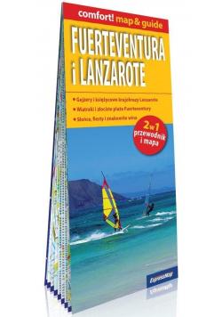 Comfort! map&guide Fuerteventura i Lanzarote 2w1
