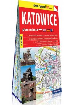 See you! in.. Katowice 1:20 000 plan miasta