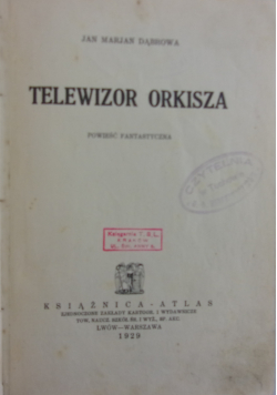 Telewizor orkisza 1929r