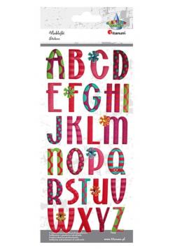 Naklejki wypukłe miękkie alfabet 26szt